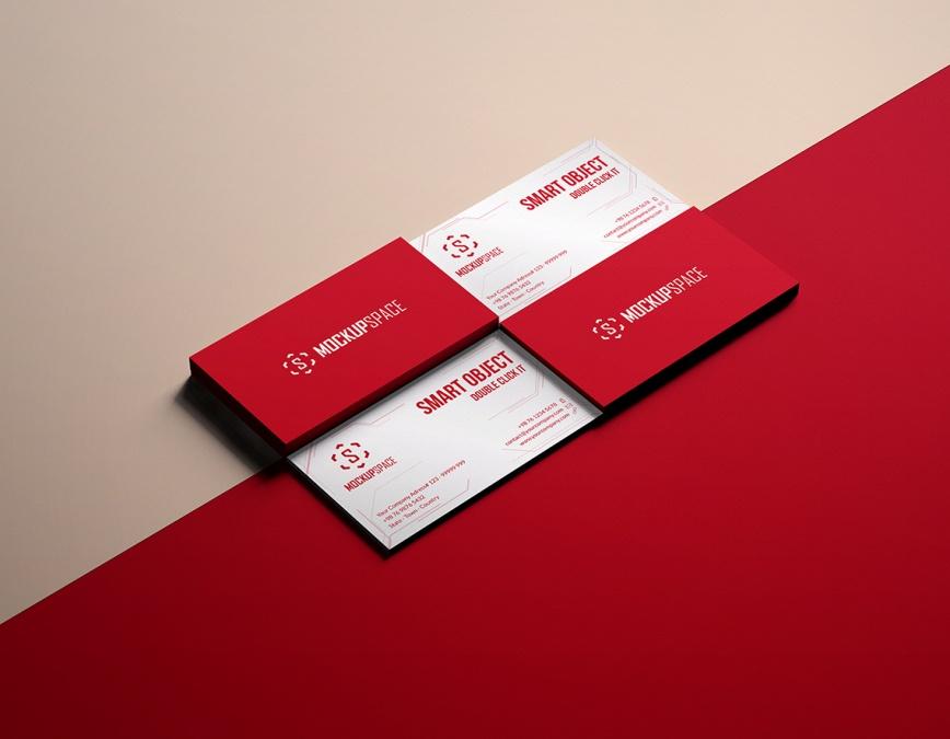printable card mock up