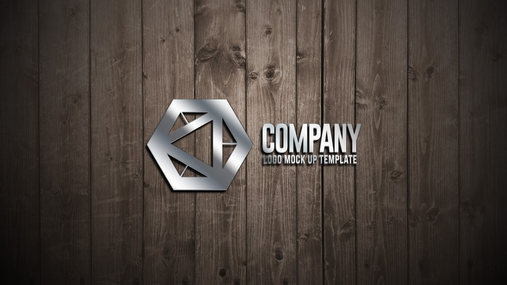 Wooden Wall Logo Mock Up Free Psd File Designertale