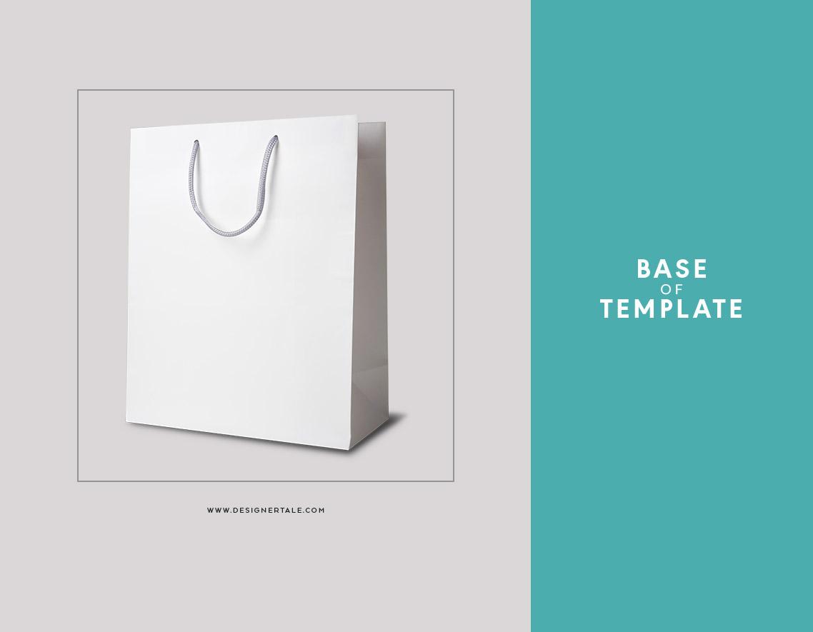 reusable bag mockup