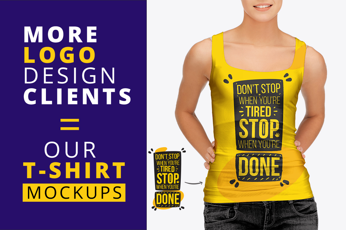 t shirt mockup bundle with model