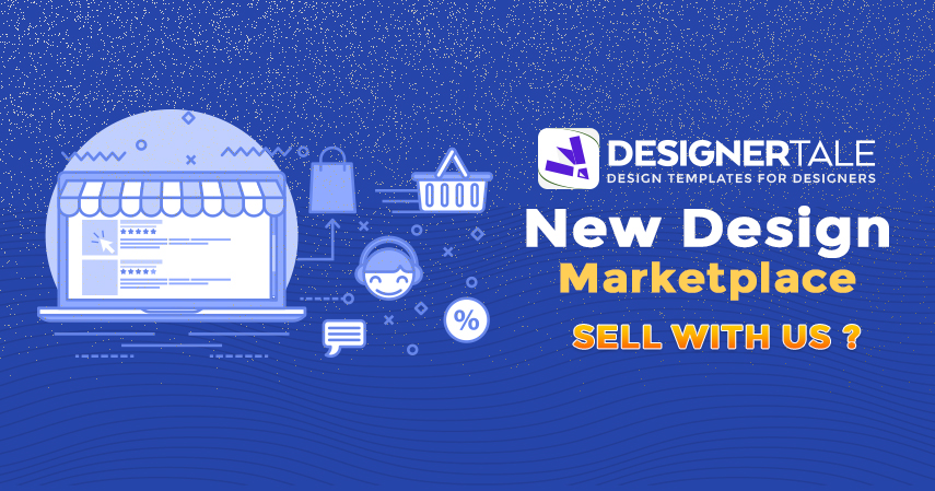 Designertale - New graphic design marketplace for graphic designers