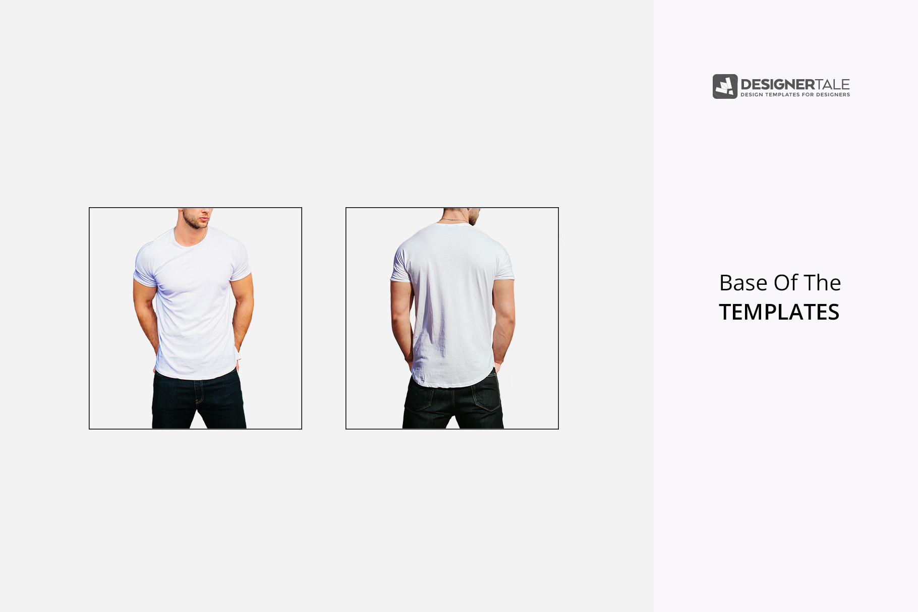 raw templates of round neck men t shirt mockup front and back side of the t shirts