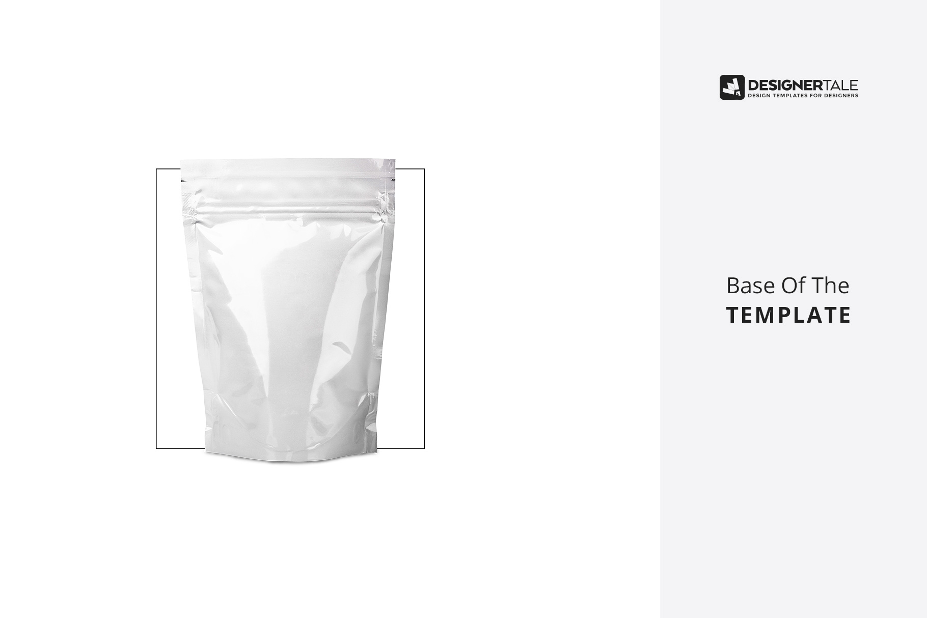 doy pack pouch mockup raw template image