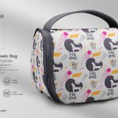 Travel Cosmetic Bag Mockup