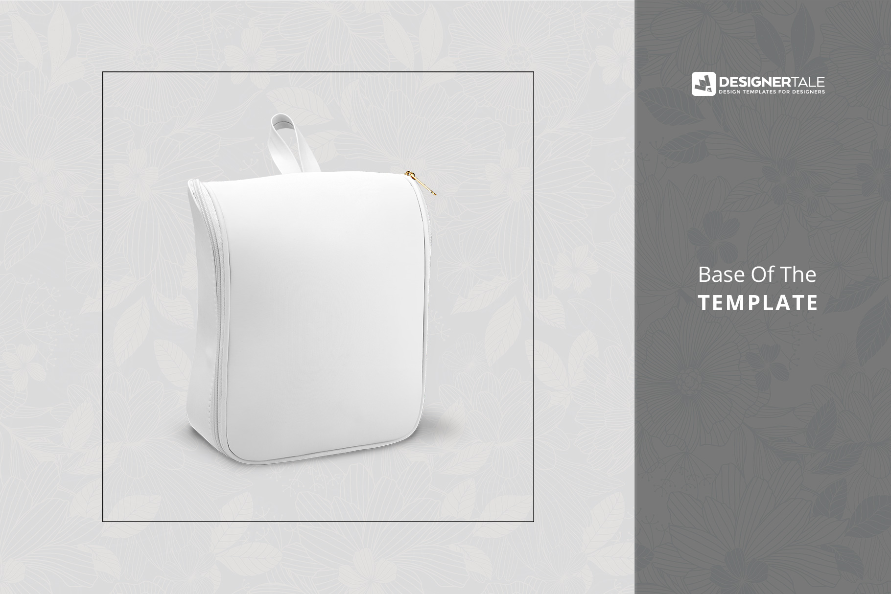 variations of the women's casual backpack mockup