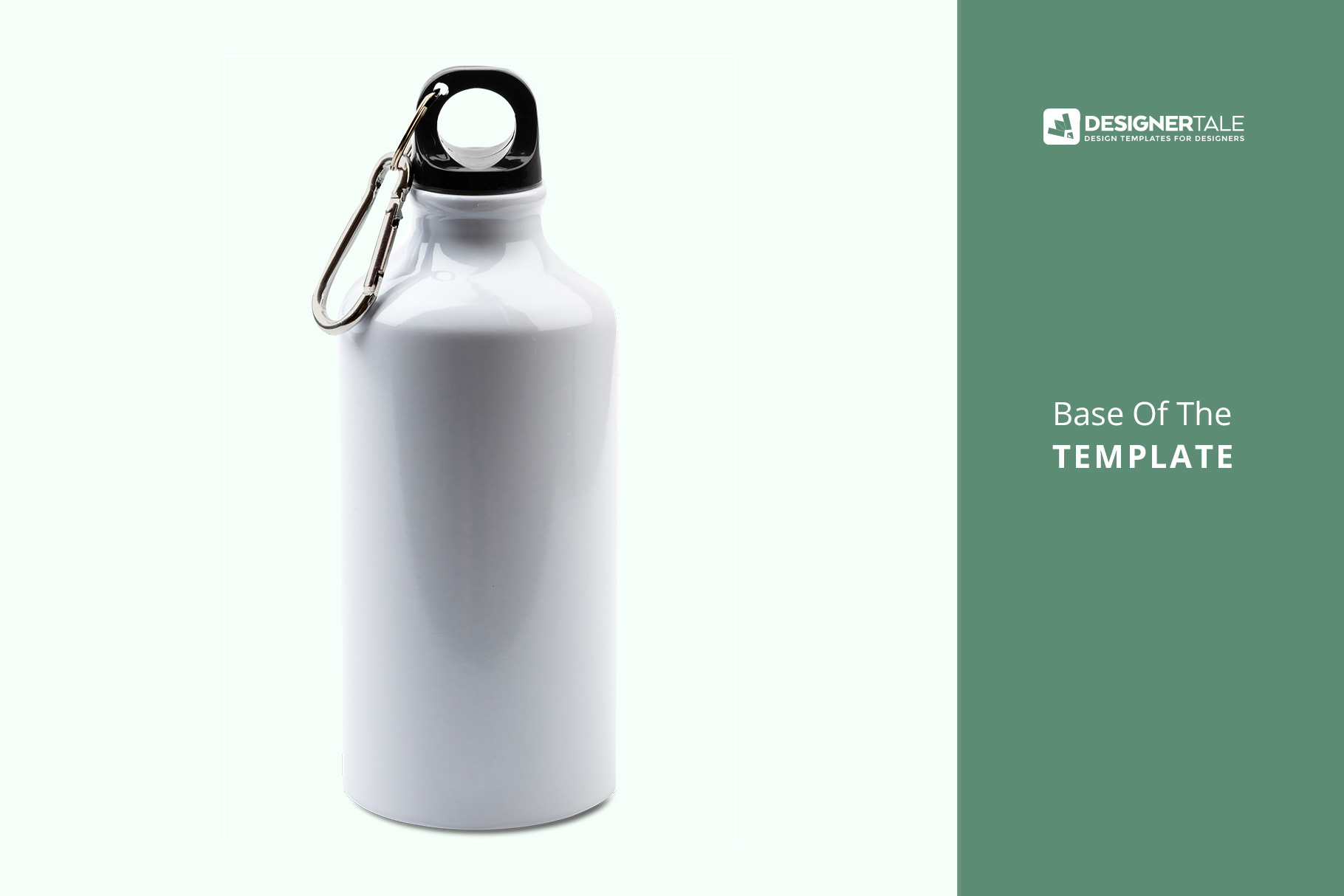 base image of the stainless sports water bottle mockup