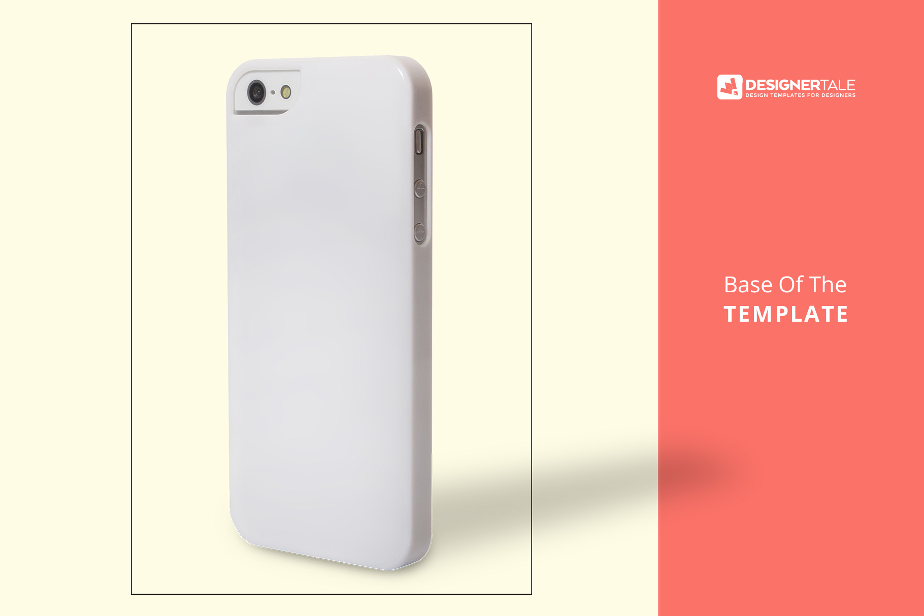base image of the iphone snap backcase mockup