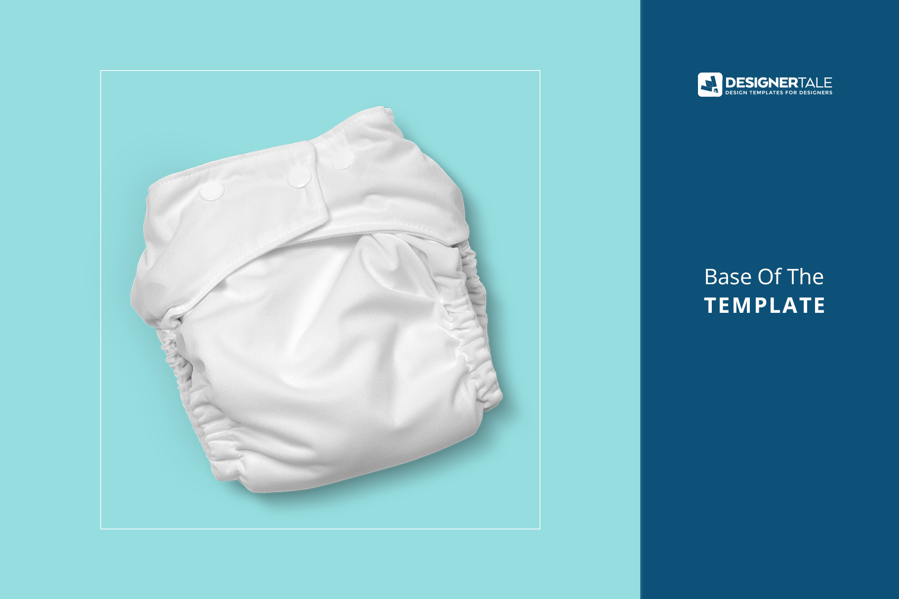 base inage of the reusable cloth diaper mockup