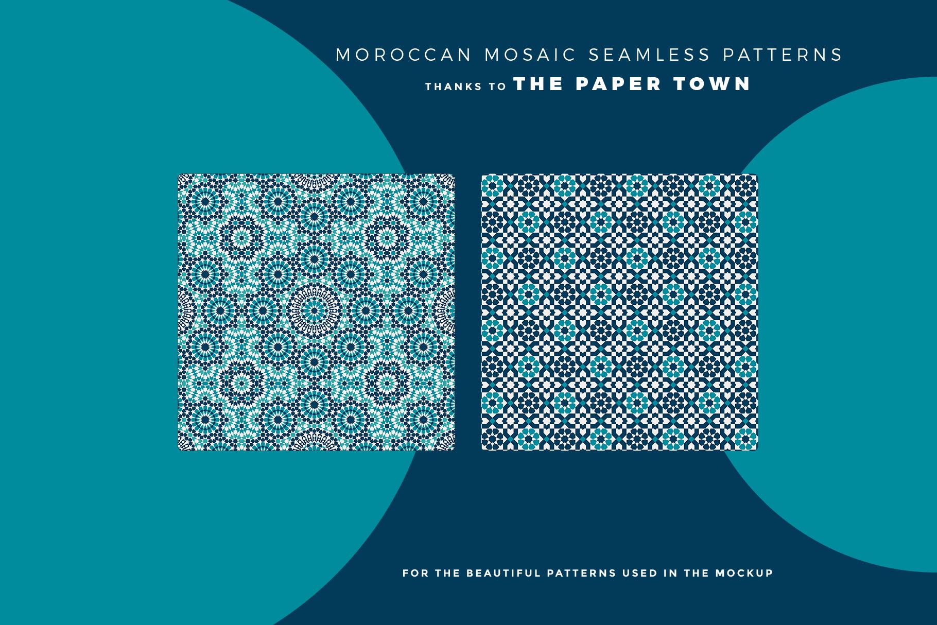 designer's credit of the leather bind journal cover mockup