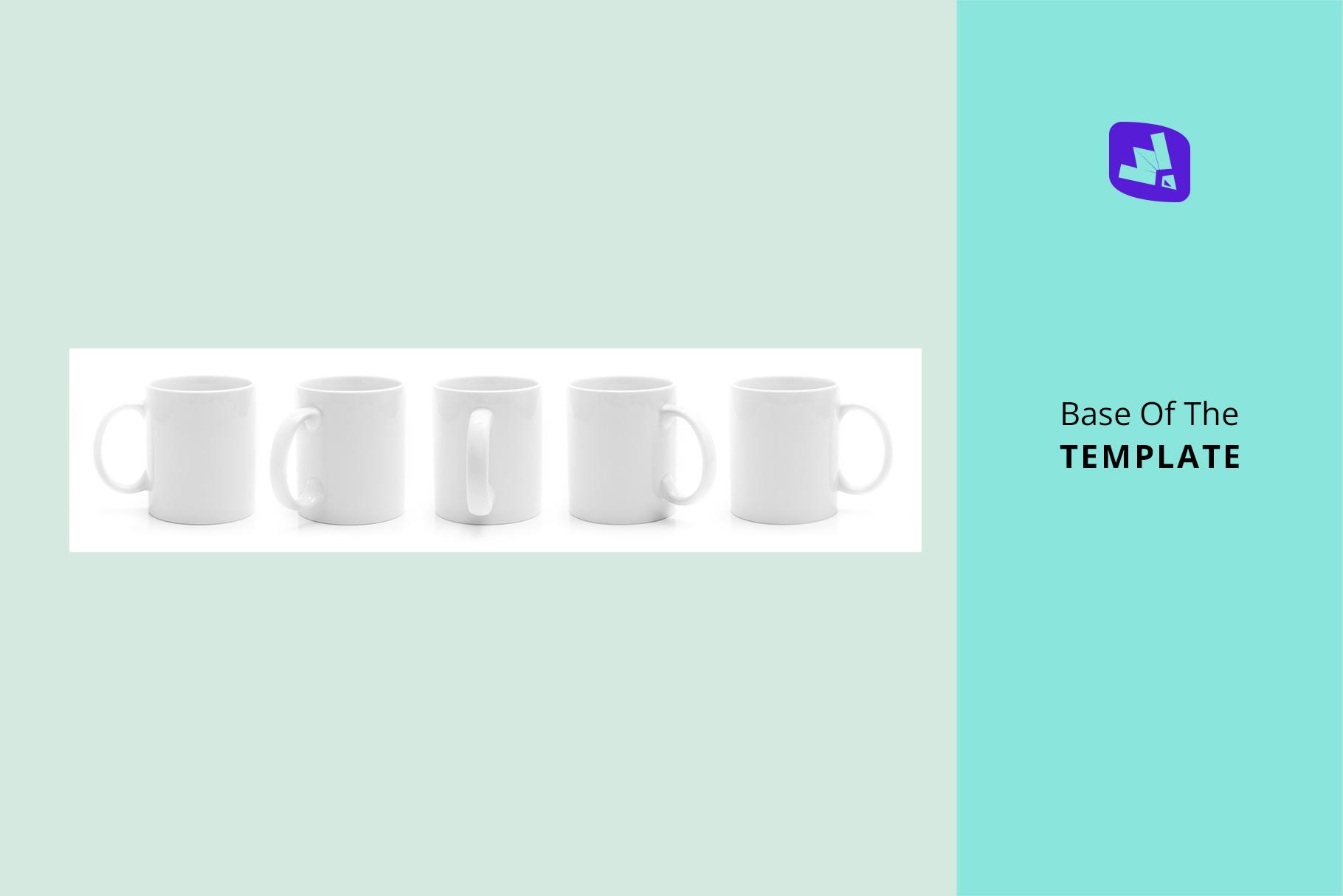 base image of the ceramic coffee mugs mockup set