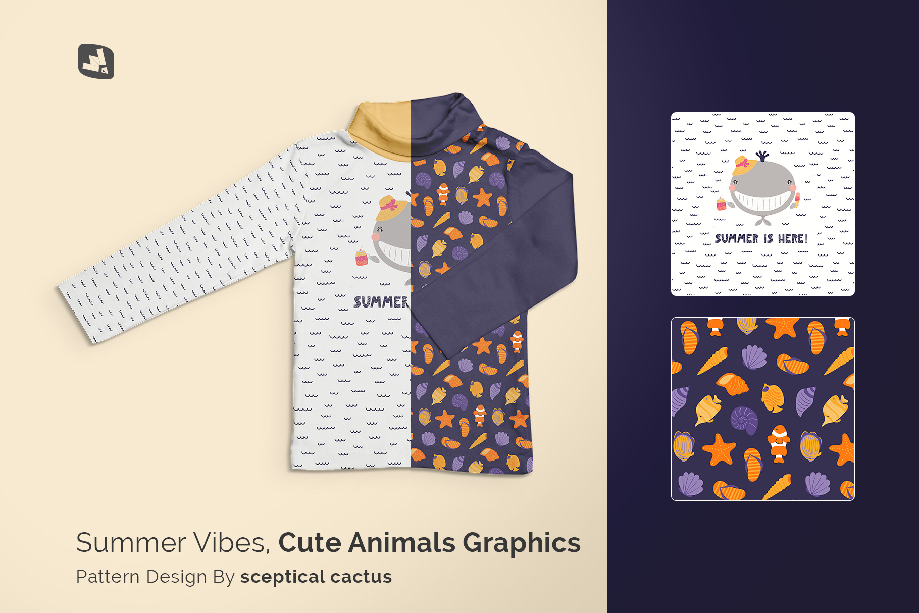 designer's credit of the top view toddler turtle neck tshirt mockup