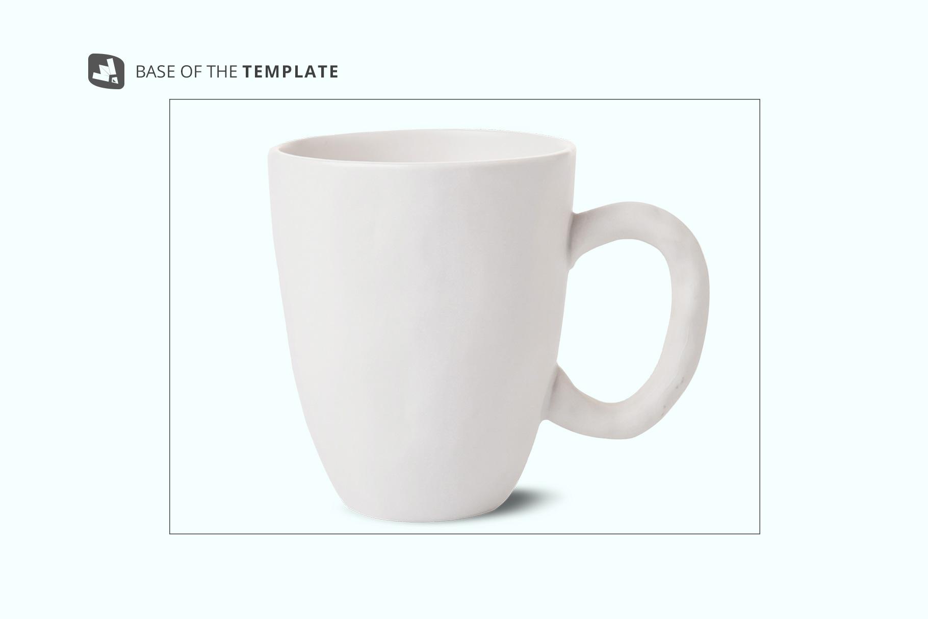 base image of the ceramic mug set mockup