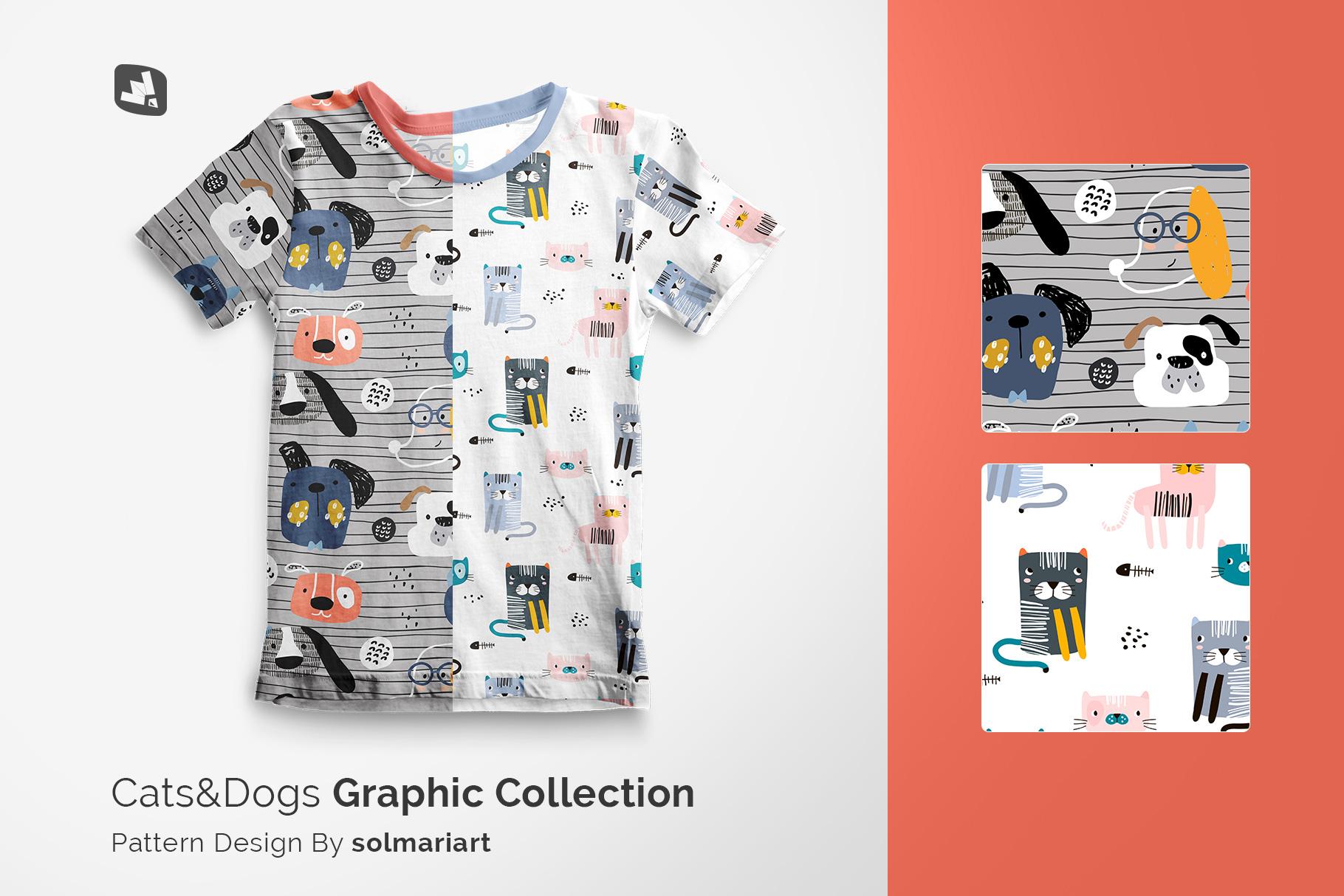 designer's credit of the top view boy's summer tshirt mockup