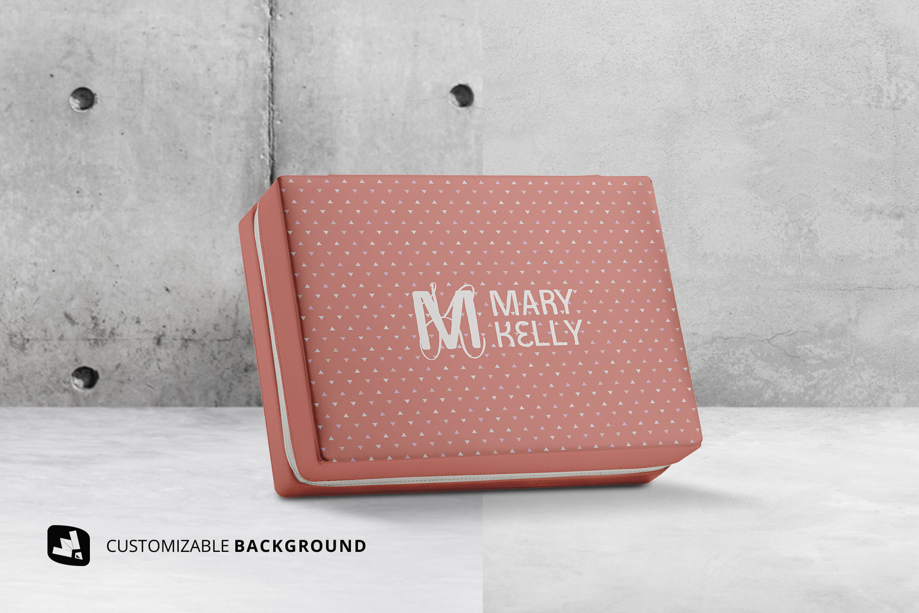 background options of the luxury apparel packaging mockup