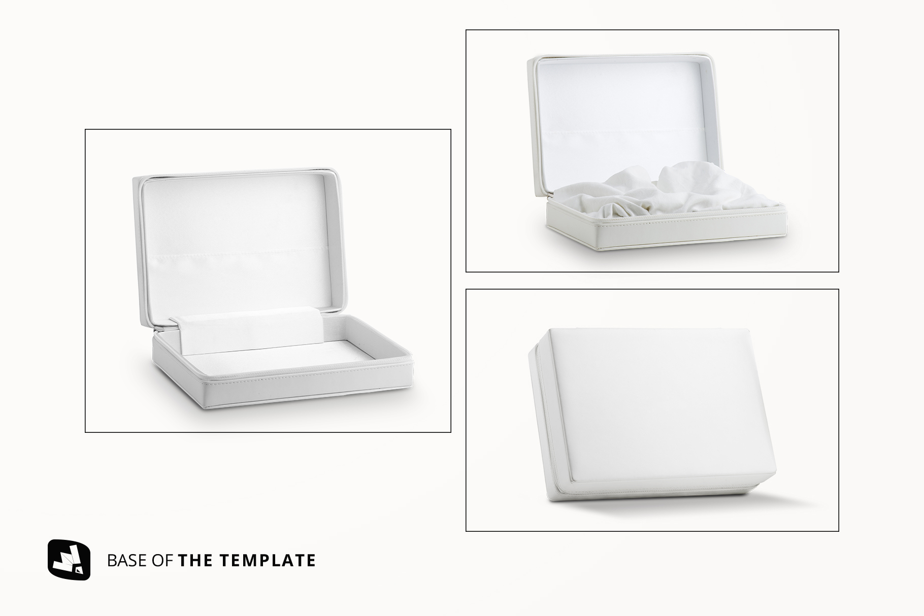 base image of the luxury apparel packaging mockup