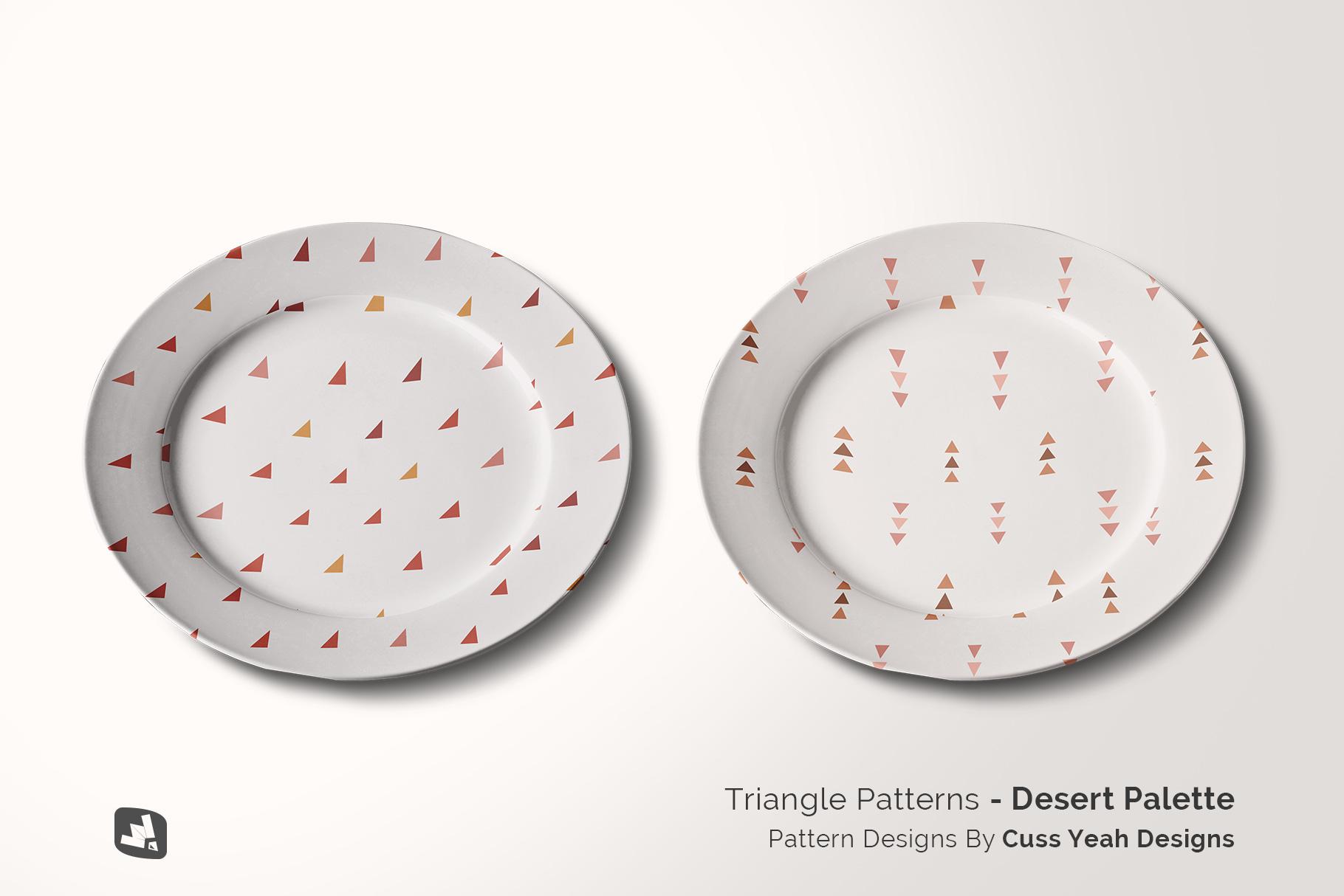 designer's credit of the porcelain dinner plate mockup