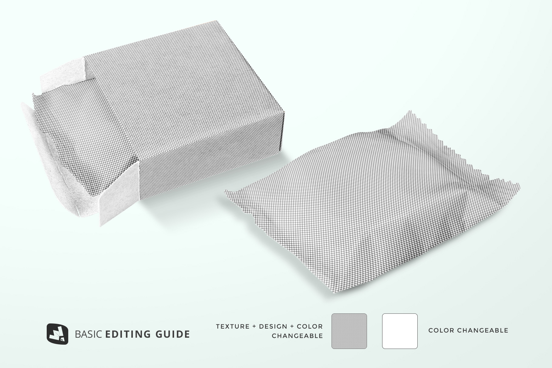 editability of the hand made soap bar packaging mockup