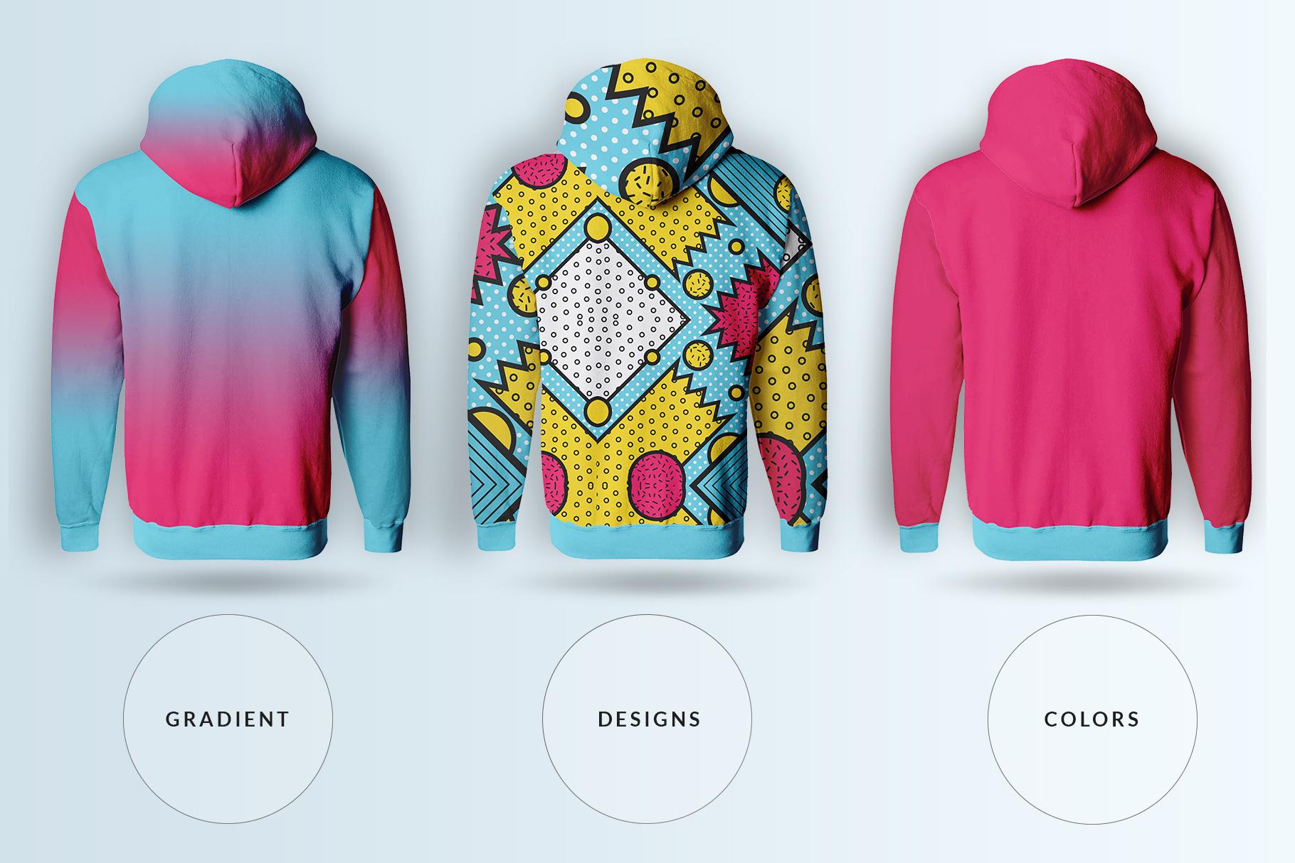 male hoodie sweatshirt mockup image preview 4