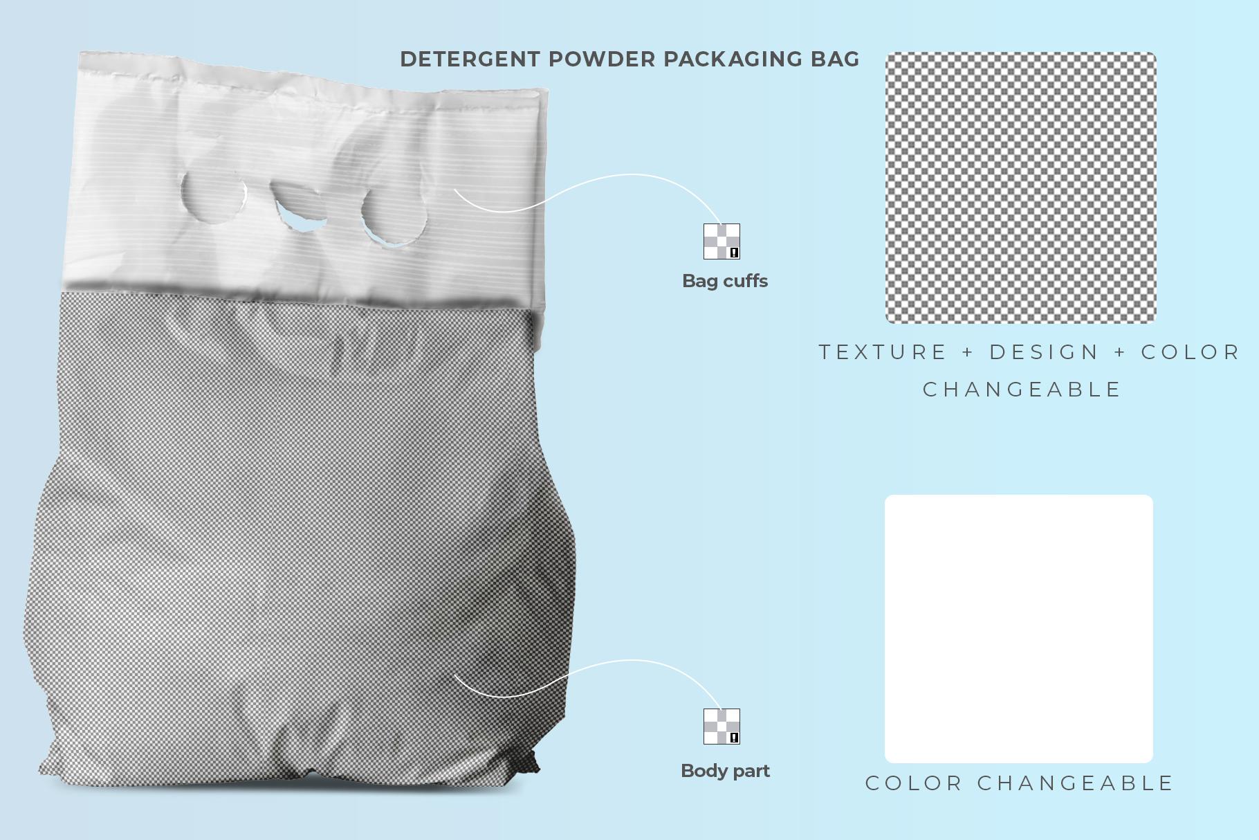 washing powder packaging mockup preview image 8