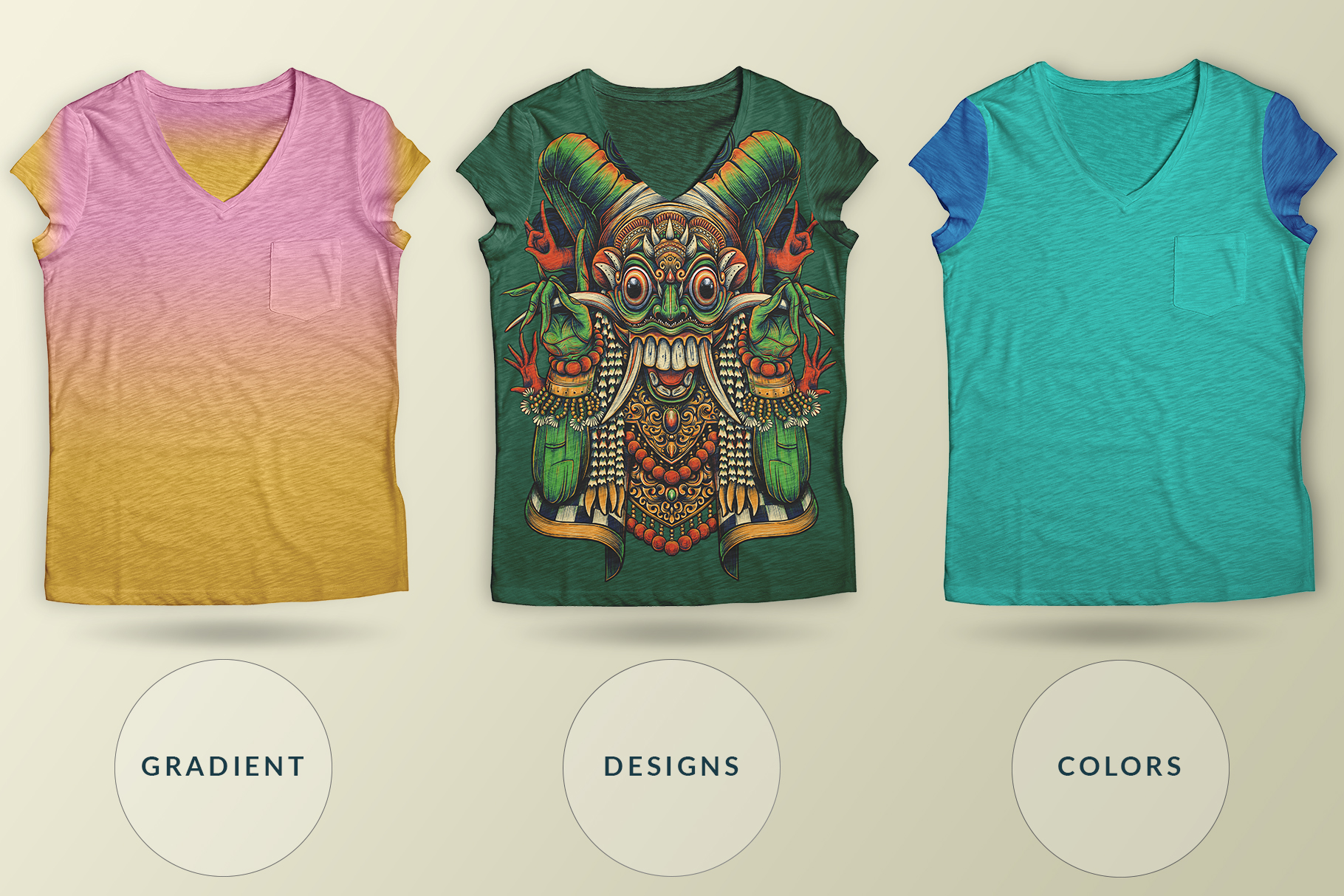 multiple-collar-type-t-shirt-mockup-image-preview-6